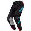 Oneal Hardwear 2020 Reflexx Motocross Jersey & Pants Black Teal Kit Thumbnail 5