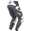 Oneal Hardwear 2020 Reflexx Motocross Jersey & Pants Grey White Kit Thumbnail 7
