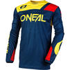 Oneal Hardwear 2020 Reflexx Motocross Jersey & Pants Blue Yellow Kit Thumbnail 4