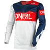 Oneal Airwear 2020 Freez Motocross Jersey & Pants Grey Blue Red Kit Thumbnail 4