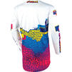 Oneal Mayhem 2020 Crackle 91 Motocross Jersey & Pants Yellow White Blue Kit Thumbnail 6