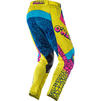 Oneal Mayhem 2020 Crackle 91 Motocross Jersey & Pants Yellow White Blue Kit Thumbnail 7
