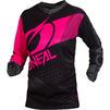 Oneal Element 2020 Factor Ladies Motocross Jersey & Pants Black Pink Kit Thumbnail 4