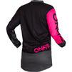 Oneal Element 2020 Factor Ladies Motocross Jersey & Pants Black Pink Kit Thumbnail 6