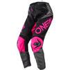 Oneal Element 2020 Factor Ladies Motocross Jersey & Pants Black Pink Kit Thumbnail 5