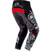 Oneal Element 2020 Warhawk Motocross Jersey & Pants Black Grey Kit Thumbnail 7