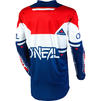 Oneal Element 2020 Warhawk Motocross Jersey & Pants Blue Red Kit Thumbnail 6