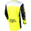 Oneal Element 2020 Impact Motocross Jersey & Pants Black Neon Yellow Kit Thumbnail 6