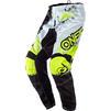 Oneal Element 2020 Impact Motocross Jersey & Pants Black Neon Yellow Kit Thumbnail 5