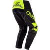 Oneal Element 2020 Impact Motocross Jersey & Pants Black Neon Yellow Kit Thumbnail 7