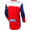 Oneal Element 2020 Impact Motocross Jersey & Pants Blue Red Kit Thumbnail 6
