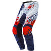 Oneal Element 2020 Impact Motocross Jersey & Pants Blue Red Kit Thumbnail 5