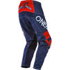 Oneal Element 2020 Impact Motocross Jersey & Pants Blue Red Kit Thumbnail 7