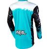 Oneal Element 2020 Impact Motocross Jersey & Pants Black Teal Kit Thumbnail 6