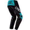 Oneal Element 2020 Impact Motocross Jersey & Pants Black Teal Kit Thumbnail 7