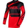 Oneal Element 2020 Racewear Motocross Jersey & Pants Black Red Kit Thumbnail 4