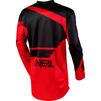 Oneal Element 2020 Racewear Motocross Jersey & Pants Black Red Kit Thumbnail 6