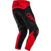 Oneal Element 2020 Racewear Motocross Jersey & Pants Black Red Kit Thumbnail 7