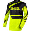 Oneal Element 2020 Racewear Motocross Jersey & Pants Black Neon Yellow Kit Thumbnail 4