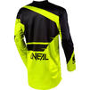 Oneal Element 2020 Racewear Motocross Jersey & Pants Black Neon Yellow Kit Thumbnail 6