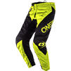 Oneal Element 2020 Racewear Motocross Jersey & Pants Black Neon Yellow Kit Thumbnail 5