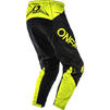 Oneal Element 2020 Racewear Motocross Jersey & Pants Black Neon Yellow Kit Thumbnail 7