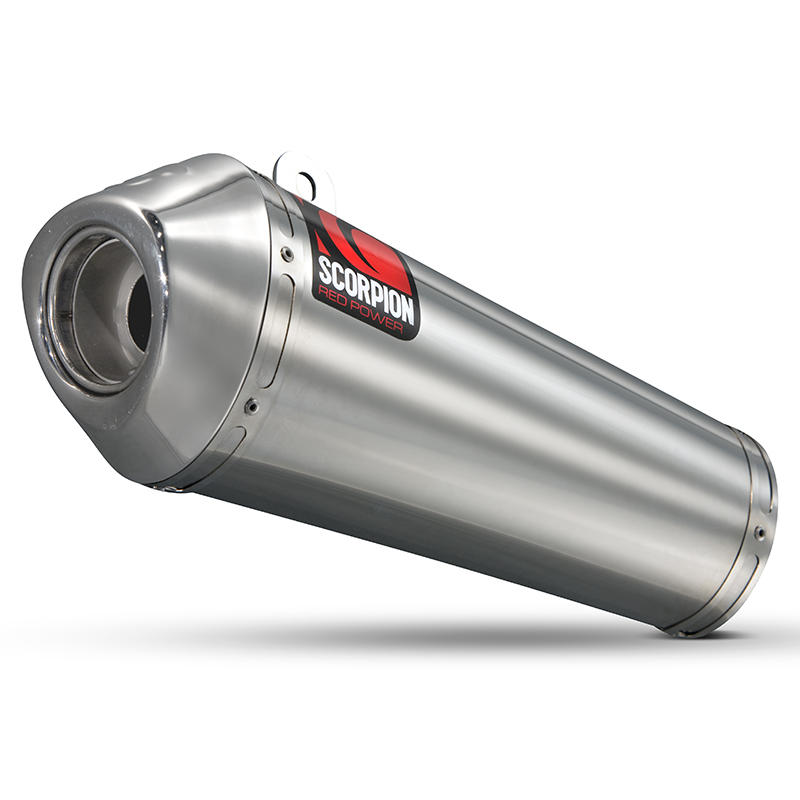 Scorpion Power Cone Stainless Oval Exhaust Yamaha YZF 600 R6 06>Current