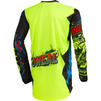 Oneal Element 2020 Villain Youth Motocross Jersey & Pants Neon Yellow Kit Thumbnail 6