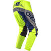 Oneal Element 2020 Factor Youth Motocross Jersey & Pants Grey Blue Neon Yellow Kit Thumbnail 7
