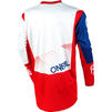 Oneal Element 2020 Factor Youth Motocross Jersey & Pants White Blue Red Kit Thumbnail 6