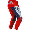 Oneal Element 2020 Factor Youth Motocross Jersey & Pants White Blue Red Kit Thumbnail 7