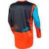 Oneal Element 2020 Factor Youth Motocross Jersey & Pants Grey Orange Blue Kit Thumbnail 6