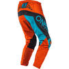 Oneal Element 2020 Factor Youth Motocross Jersey & Pants Grey Orange Blue Kit Thumbnail 7