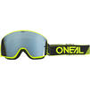 Oneal B-50 2020 Force Mirror Silver Motocross Goggles Thumbnail 3