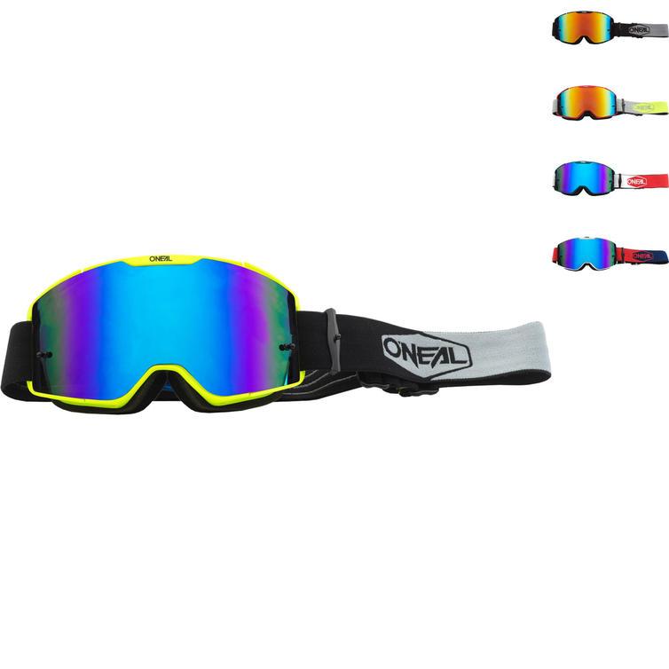Oneal B-20 2020 Plain Radium Motocross Goggles