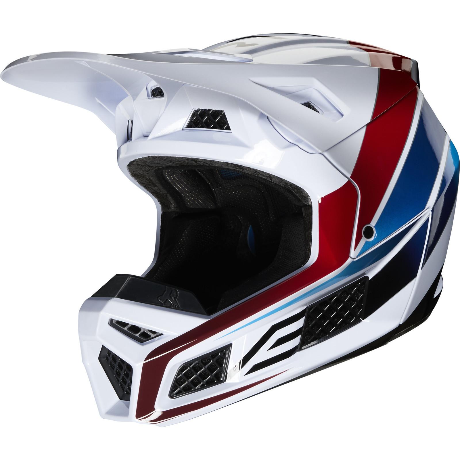 Fox Racing 2020 V3 Durven Motocross Helmet Helmets Ghostbikes Com
