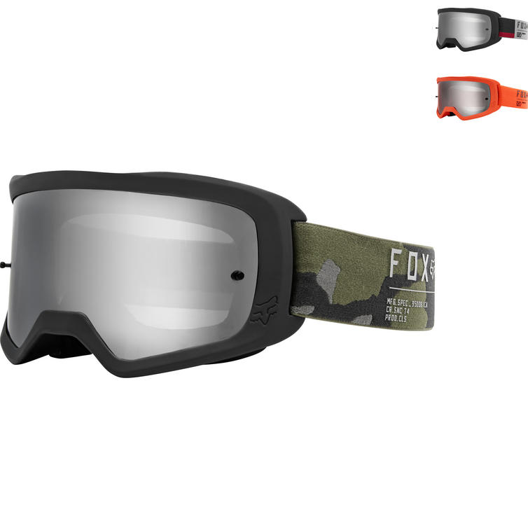 Fox Racing Main II Gain Spark Motocross Goggles