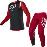 Fox Racing 2020 Flexair REDR Motocross Jersey & Pants Flame Red Kit