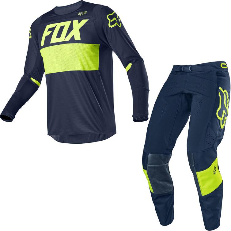 Fox Racing 2020 360 Bann Motocross Jersey & Pants Navy Kit