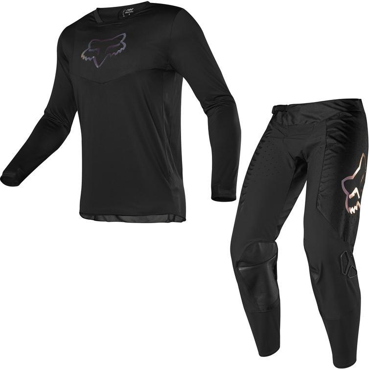 Fox Racing 2020 Airline Motocross Jersey & Pants Black Kit