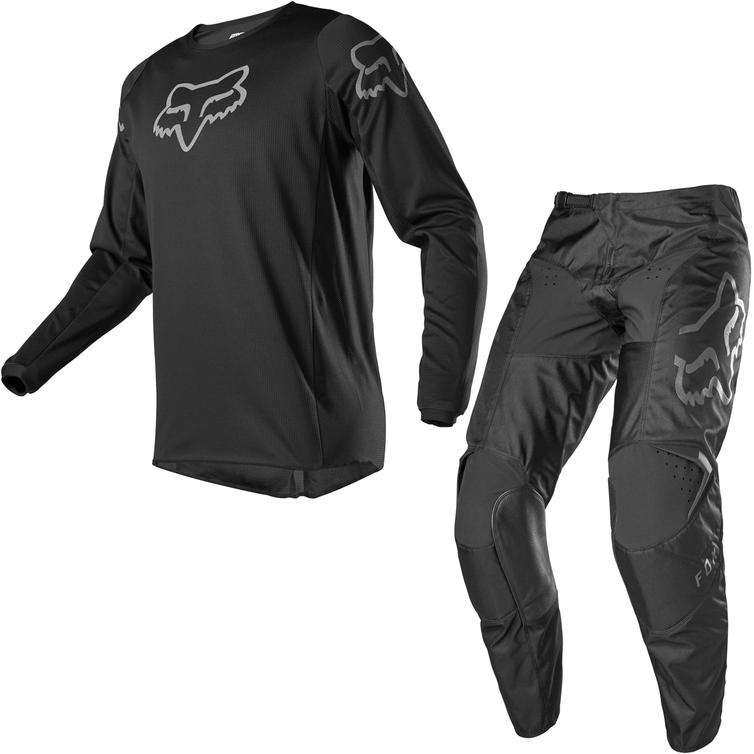 Fox Racing 2020 180 Prix Motocross Jersey & Pants Black Kit
