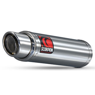 Scorpion Stealth Stainless Oval Exhaust Honda CBR 600 RR 07-12