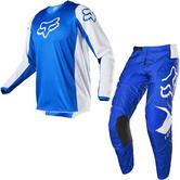 Fox Racing 2020 180 Prix Motocross Jersey & Pants Blue Kit