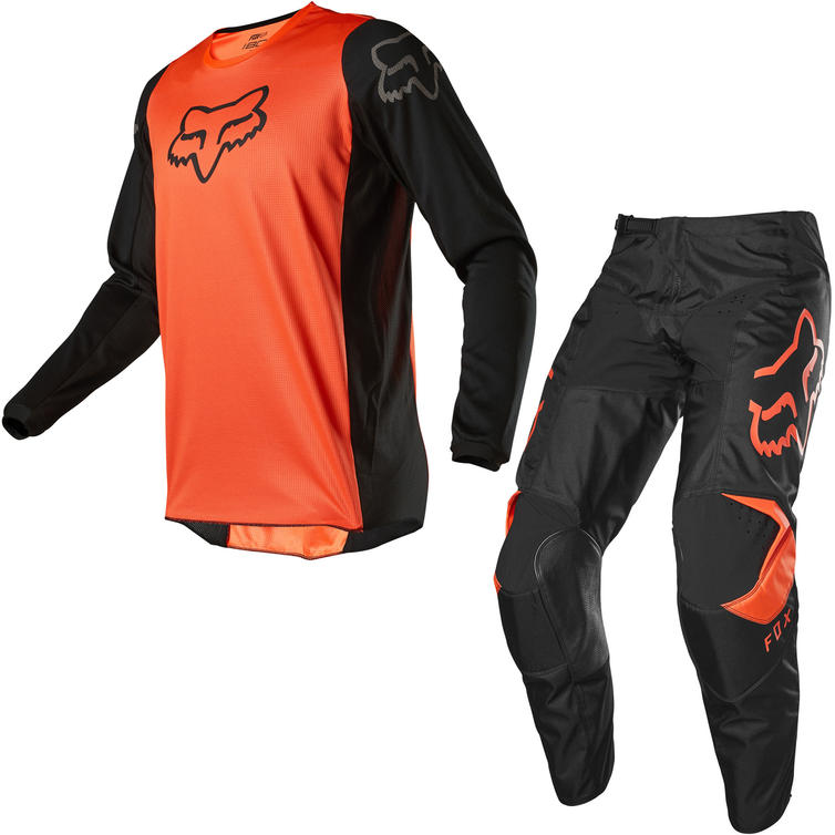 Fox Racing 2020 180 Prix Motocross Jersey & Pants Fluo Orange Kit