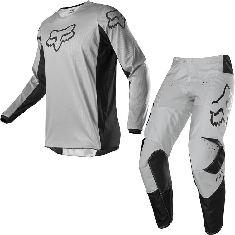 Fox Racing 2020 180 Prix Motocross Jersey & Pants Grey Kit