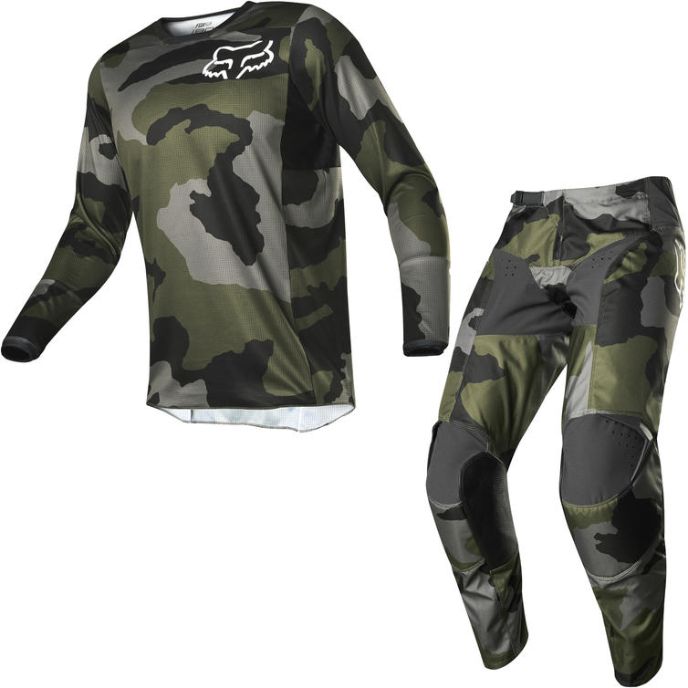 Fox Racing 2020 180 Przm Camo SE Motocross Jersey & Pants Camo Kit