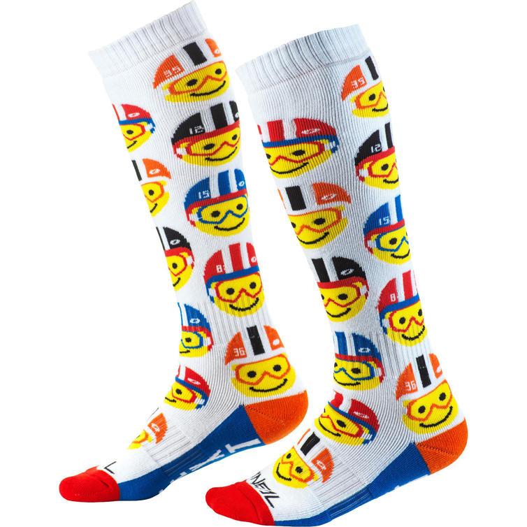 Oneal Pro MX Emoji Racer Youth Motocross Socks