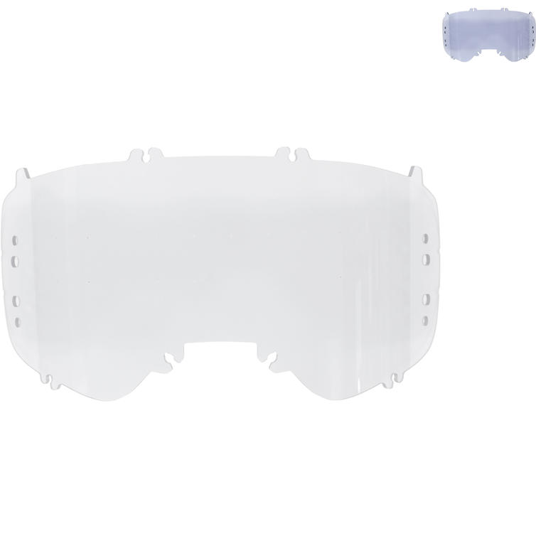 Fox Racing Airspace/Main II TV Lexan Goggle Lens