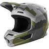 Fox Racing 2020 Youth V1 Przm Camo Motocross Helmet Thumbnail 3