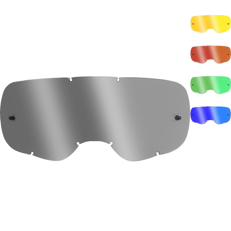 Fox Racing Youth Airspace/Main II Chrome Flat Lexan Goggle Lens